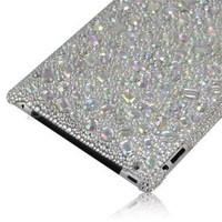 Jersey Bling® Crystal Ipad 2, 3, or 4 Rhinestone Snap on Back Cover Bling Case