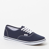 Vans Authentic Lo Pro Canvas Sneakers - Womens Shoes - Blue