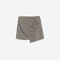 GINGHAM CHECK MINI SKIRTDETAILS