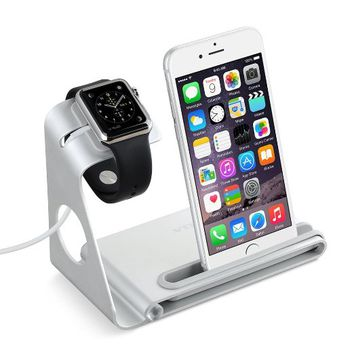 Vtin Aluminum Alloy Apple Watch Stand for Apple Watch, iPhone 6s & 6s Plus