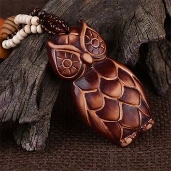 Wooden Necklaces & Pendants
