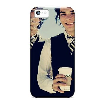 For Iphone 5c Tpu Phone Case Cover(gerard Way)