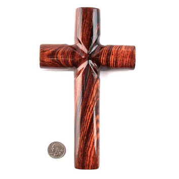 Wooden Wall Cross, Wood Cross, Wood Wall Cross, Christian Wall Decor, Wooden Cross Wall Decor, Hand Carved Wall Cross, Decorative Wall Cross