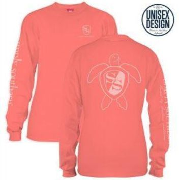 *Closeout* Simply Southern Long Sleeve Tees- TURTLE LOGO
