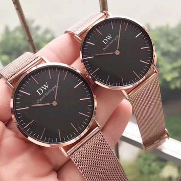 DW Daniel Ladies Men Fashion Quartz Watches Wrist Watch