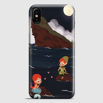 Peter Pan And Ariel Mermaid iPhone X Case | casescraft