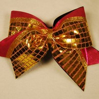 The Olivia : GLITZ Cheer BowZ, Custom Products From Your Head To Your Toes