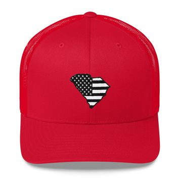 South Carolina - Black Flag Hat