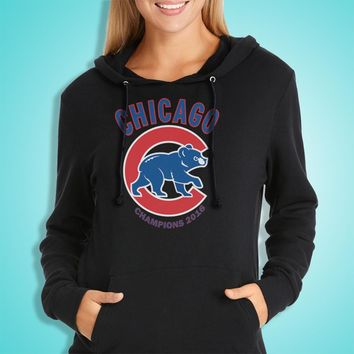 Chicago Cubs Champions 2016 Women'S Hoodie