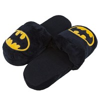 Batman - Big Logo Plush Slippers