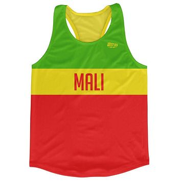Mali Country Finish Line Running Tank Top Racerback Track and Cross Country Singlet Jersey