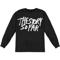 Story So Far Men's  New Logo  Long Sleeve Black Rockabilia