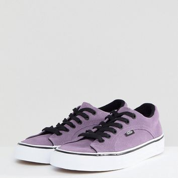 Vans Lampin Unisex Sneakers In Purple at asos.com