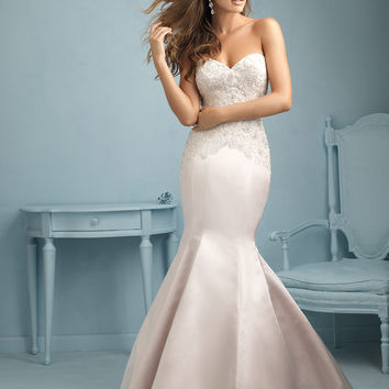 Allure Bridals 9221 Fit and Flare Wedding Dress