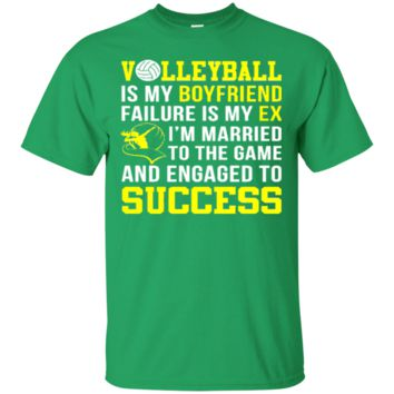 Volleyball Is My Boyfriend Funny Volleyball Shirt 6932