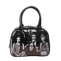 Rock Rebel The Munsters Family Portrait Bag