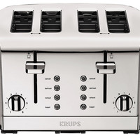 4-Slice Signature Series Toaster, Silver, Toasters & Ovens