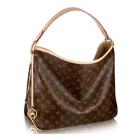 Authentic Louis Vuitton Monogram Canvas Delightful PM Handbag Article:M50154 Made in France