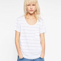 STRIPED T - SHIRT-View All-T-SHIRTS-WOMAN | ZARA United States