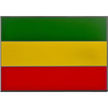 Rastafarian Flag BELT BUCKLE