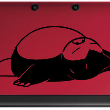 Snorlax Pokemon Decal for 3DS and 3DSXL by GameThemedThings