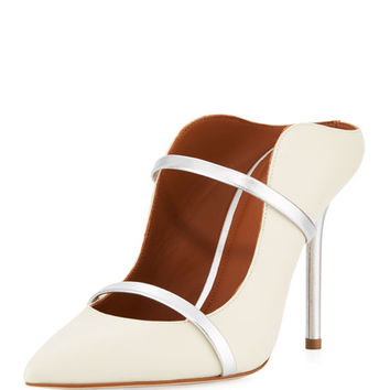 Malone Souliers Maureen Napa Leather Mule Pump