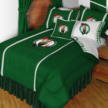 NBA Boston Celtics Bedding Set Basketball Bed: Full