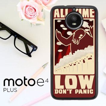 All Time Low Logo Y0296 Motorola Moto E4 Plus Case