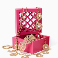 Lattice Lid Jewelry Box | Fashion Accessories - Organization | charming charlie