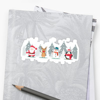 'Christmas ' Sticker by chantaltenbrink