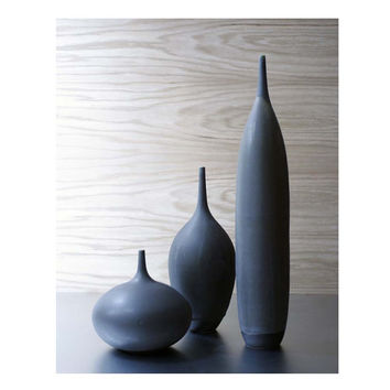 3 Large Slate Bottle Vases by Sara Paloma