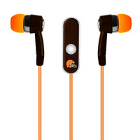 Mizco NFL Cleveland Browns Stereo Hands Free Earbuds