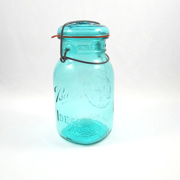 Vintage Ball Ideal Bicentennial Canning Jar with Lid from 1976