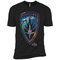 Marvel Guardians of Galaxy 2 Milano Shield Graphic T-Shirt