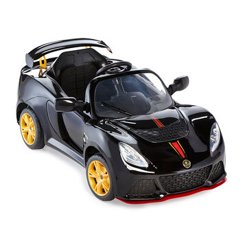 Kids' Electric Lotus Convertible, Black - Ride on Cars