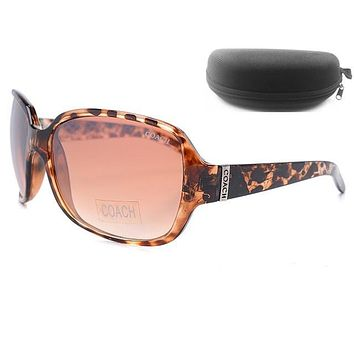 Coach Women Casual Popular Summer Sun Shades Eyeglasses Glasses Sunglasses