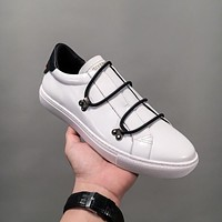 Givenchy Low Sneakers With Elastic Laces White Bh000hh002-116