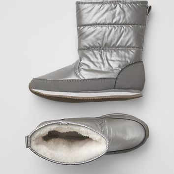 Gap Girls Shine Sneaker Boots