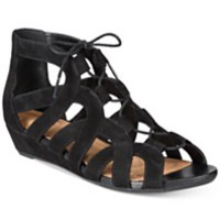 Clarks Artisan Women's Parram Lux Gladiator Lace-Up Sandals | macys.com