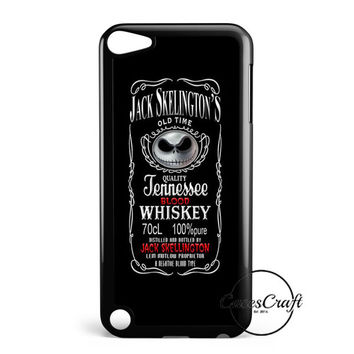 Jack Skellington Whiskey Daniels iPod Touch 5 Case