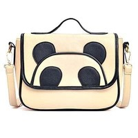 Panda Teddy Bear Animal Themed Cross body Shoulder Bag for Women