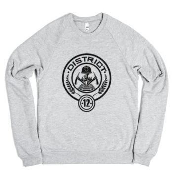 The Hunger Games, District 12 American Apparel T-Shirt-Sweatshirt