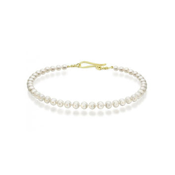 Freshwater Pearl Necklace Gold Clasp