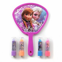 Disney Frozen Lip Shine & Mirror Set - Girls (Ple)