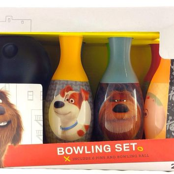 Illumination The Secret Life of Pets 6 Pins Bowling Set