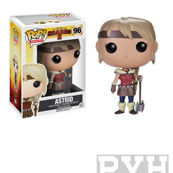 Funko Pop! Movies: How To Train Your Dragon 2 - Astrid - Vinyl Figure - VAULTED (RETIRED)