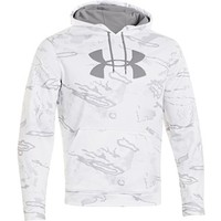 Under Armour Men's Big Logo Hooded Sweatshirt Polyester