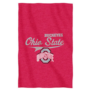 Ohio State Buckeyes NCAA Sweatshirt Throw