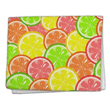 "Colorful Citrus Fruits 11""x18"" Dish Fingertip Towel All Over Print"