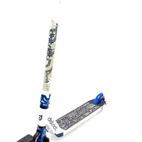 District Custom Limited Edition Complete Pro Scooter White/Blue
